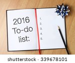 to do list with gold blue... | Shutterstock . vector #339678101