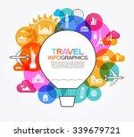 infographics elements  travel... | Shutterstock .eps vector #339679721