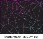 abstract colorful outline of... | Shutterstock .eps vector #339694151