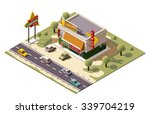 vector isometric icon or...   Shutterstock .eps vector #339704219
