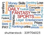 Daily Fantasy Sports Word Clou...