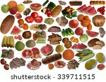 food collection. | Shutterstock . vector #339711515