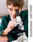 high school student use... | Shutterstock . vector #33973450