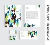 brochure  flyer or report for...   Shutterstock .eps vector #339778025