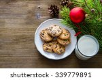 Cookies And Milk For Santa...