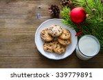 Cookies And Milk For Santa...