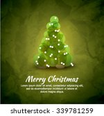 abstract christmas vector... | Shutterstock .eps vector #339781259
