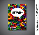modern vector abstract brochure ... | Shutterstock .eps vector #339781709