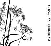 wildflowers graphic.vector... | Shutterstock .eps vector #339793541