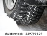 close up image of winter car... | Shutterstock . vector #339799529