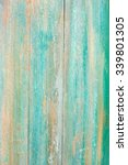 old shabby wooden planks with...   Shutterstock . vector #339801305