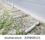 Concrete Fence Is Falling Near...