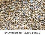 sea stone background. | Shutterstock . vector #339814517