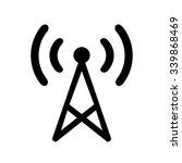 transmitter icon . vector...   Shutterstock .eps vector #339868469