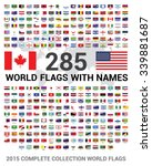 Vector Set Of 285 World Flags...
