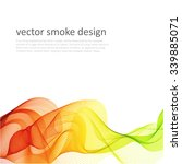 abstract vector colorful... | Shutterstock .eps vector #339885071