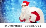 christmas  holidays and people... | Shutterstock . vector #339887711