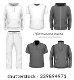 sport men wear collection.... | Shutterstock .eps vector #339894971