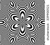Black And White Geometric...