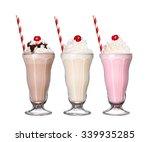 Milkshakes Chocolate Flavor Ic...