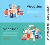 world travel. planning summer...   Shutterstock .eps vector #339938654