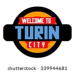 turin city in italy is a...   Shutterstock .eps vector #339944681