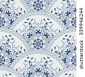 seamless patchwork pattern of ... | Shutterstock .eps vector #339946244