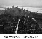 new york city  view south of... | Shutterstock . vector #339956747