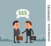 business concept illustration... | Shutterstock . vector #339969581