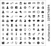 business icons set. | Shutterstock .eps vector #339974894