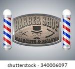 Barber Shop Vintage Design...