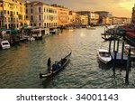 Venice  Italy. Canale Grande...