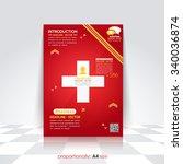 medical concept  business...   Shutterstock .eps vector #340036874