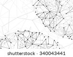 abstract illustration. lines... | Shutterstock . vector #340043441