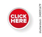 click here button vector | Shutterstock .eps vector #340051679