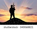 concept of terrorism....   Shutterstock . vector #340068821