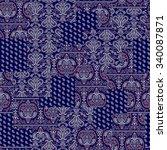 bandanna illustration design  | Shutterstock . vector #340087871