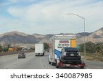 cabazon  california  usa  ... | Shutterstock . vector #340087985