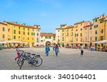 lucca  italy   april 30  2013 ... | Shutterstock . vector #340104401