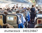 interior of large passengers... | Shutterstock . vector #340124867