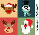 vector collection of different... | Shutterstock .eps vector #340164485
