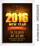 shiny elegant flyer  banner or... | Shutterstock .eps vector #340205645