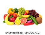 fruit | Shutterstock . vector #34020712