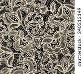Lace Seamless Pattern. Vintage...