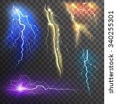 Lightning Transparent Set In...
