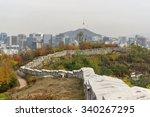 seonggwak fortress wall of... | Shutterstock . vector #340267295