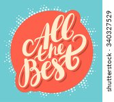 all the best.  | Shutterstock .eps vector #340327529