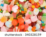 Mixed Colorful Candies...