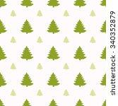 geometric seamless pattern.... | Shutterstock .eps vector #340352879