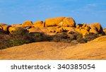 Massive Granite Rock Formations ...